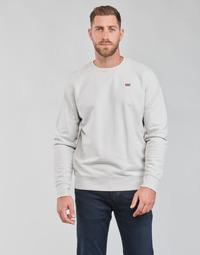 Textil Homem Sweats Levi's NEW ORIGINAL CREW Cinza