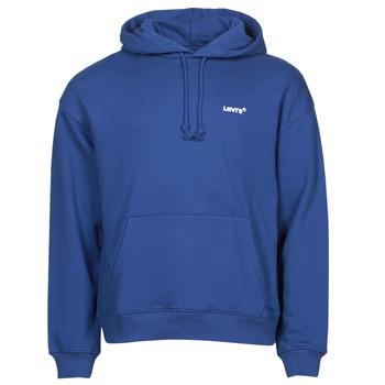 Textil Homem Sweats Levi's RED TAB SWEATS HOODIE Azul