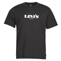 Textil Homem T-Shirt mangas curtas Levi's SS RELAXED FIT TEE Preto