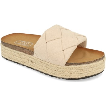 Sapatos Mulher Chinelos H&d YT32 Beige