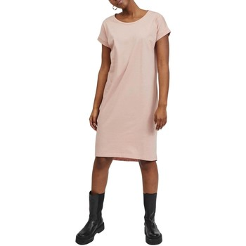 Textil Mulher Vestidos Vila  Rosa