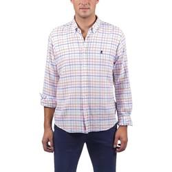 Textil Homem Camisas mangas comprida El Pulpo  Rosa