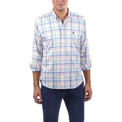 Textil Homem Camisas mangas comprida El Pulpo  Azul