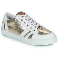 Sapatos Mulher Sapatilhas Les Tropéziennes par M Belarbi SUZIE Ouro / Branco