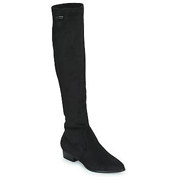Sapatos Mulher Botas altas Les Tropéziennes par M Belarbi DENISE Preto
