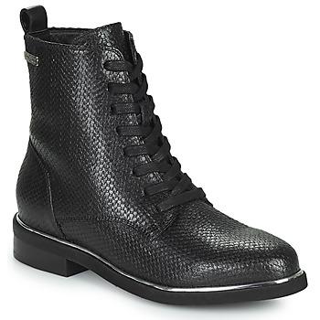 Sapatos Mulher Botas baixas Les Tropéziennes par M Belarbi MATHILDE Preto