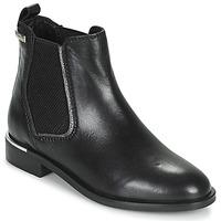 Sapatos Mulher Botas baixas Les Tropéziennes par M Belarbi MYLA Preto / Prata