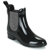 Sapatos Mulher Botas de borracha Les Tropéziennes par M Belarbi RAINBOO Preto / Prata