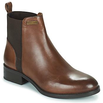 Sapatos Mulher Botas baixas Les Tropéziennes par M Belarbi WINNY Castanho