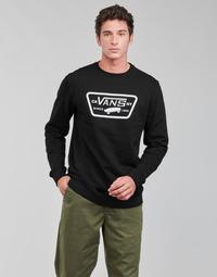 Textil Homem Sweats Vans FULL PATCH CREW II Preto