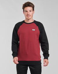 Textil Homem Sweats Vans RUTLAND III Bordô / Preto