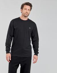 Textil Homem T-shirt mangas compridas Vans OFF THE WALL CLASSIC LS Preto
