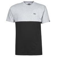 Textil Homem T-Shirt mangas curtas Vans COLORBLOCK TEE Cinza / Preto