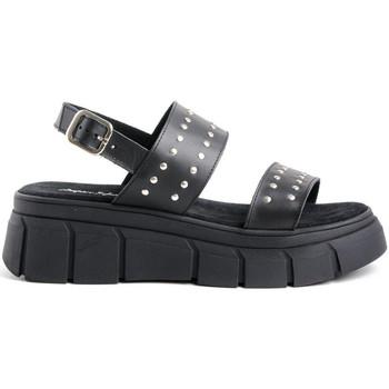 Sapatos Mulher Sandálias Zap-In 2 TIRAS REMACHES Preto