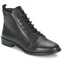Sapatos Mulher Botas baixas Betty London MUSA Preto