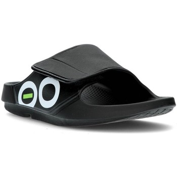 Sapatos chinelos Oofos OOAHH SPORT 1550 PRETO