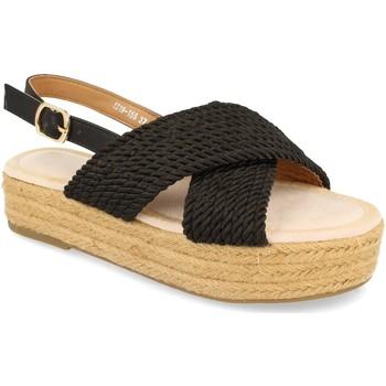 Sapatos Mulher Sandálias H&d YZ19-155 Negro