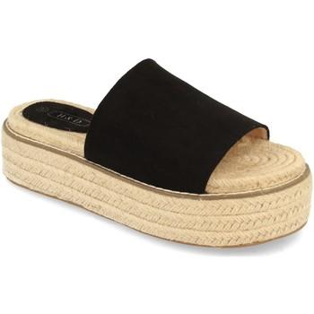 Sapatos Mulher Chinelos H&d YZ19-205 Negro