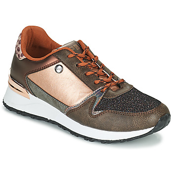 Sapatos Mulher Sapatilhas Les Petites Bombes CINDY Ouro / Bronze