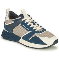 Sapatos Homem Sapatilhas MICHAEL Michael Kors THEO Marinho / Branco