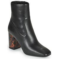 Sapatos Mulher Botins MICHAEL Michael Kors MARCELLA Preto