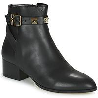 Sapatos Mulher Botas baixas MICHAEL Michael Kors BRITTON Preto
