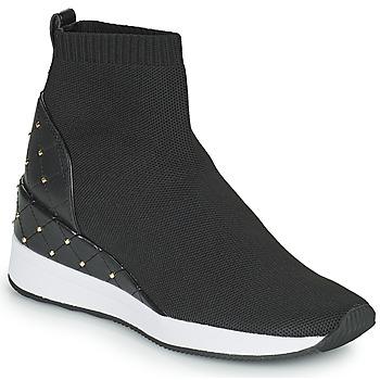 Sapatos Mulher Sapatilhas de cano-alto MICHAEL Michael Kors SKYLE Preto