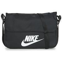 Malas Bolsa tiracolo Nike NIKE SPORTSWEAR Preto / Branco