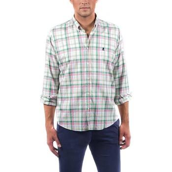 Textil Homem Camisas mangas comprida El Pulpo  Verde