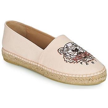 Sapatos Mulher Alpargatas Kenzo ESPADRILLES CLASSIC TIGER Rosa / Cru