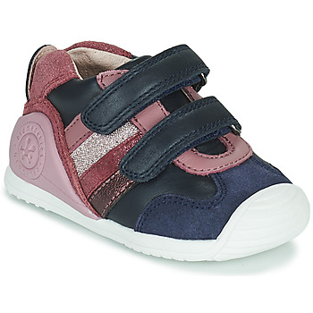 Sapatos Rapariga Sapatilhas Biomecanics BIOGATEO SPORT Marinho / Rosa