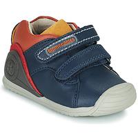 Sapatos Rapaz Sapatilhas Biomecanics BIOGATEO CASUAL Marinho