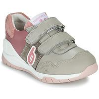 Sapatos Rapariga Sapatilhas Biomecanics BIOEVOLUTION SPORT Cinza / Rosa