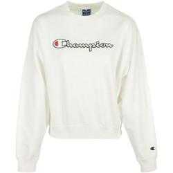 Textil Mulher Sweats Champion Crewneck Sweatshirt Branco