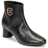 Sapatos Mulher Botas baixas Calvin Klein Jeans CYLINDER ANKLE BOOT Preto