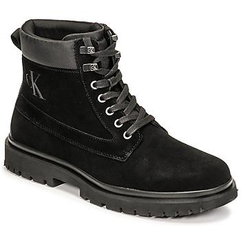 Sapatos Homem Botas baixas Calvin Klein Jeans LUG MID LACEUP BOOT HIKE Preto