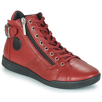 Sapatos Mulher Sapatilhas de cano-alto Pataugas PALME Sangria