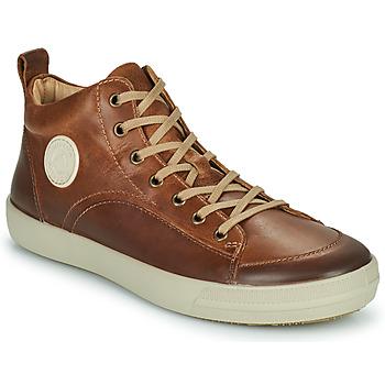 Sapatos Homem Sapatilhas de cano-alto Pataugas CARLO Castanha