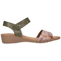 Sapatos Mulher Sandálias Valeria's 7151 Mujer Kaki vert