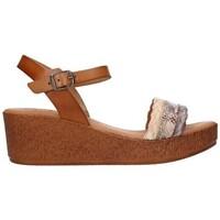 Sapatos Mulher Sandálias Lola Rico 910 Mujer Taupe marron