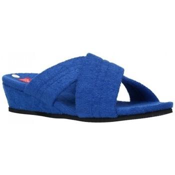 Sapatos Mulher Chinelos Norteñas 9-942 Mujer Azul bleu