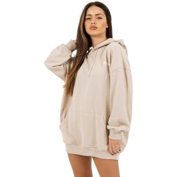 Textil Mulher Sweats Sixth June Robe sweat Femme beige