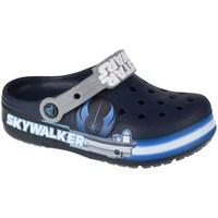 Sapatos Criança Sapatos aquáticos Crocs Fun Lab Luke Skywalker Lights K Clog Azul marinho