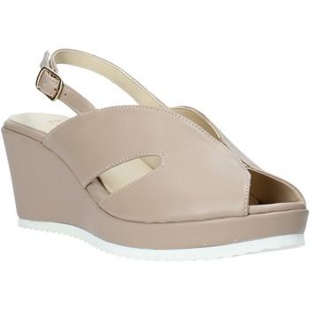 Sapatos Mulher Sandálias Esther Collezioni ZB 115 Bege