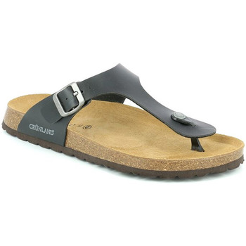Sapatos Homem Chinelos Grunland CB3014 Preto