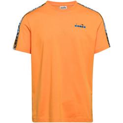 Textil Homem T-Shirt mangas curtas Diadora 502176085 Laranja