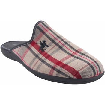 Sapatos Homem Chinelos Vulca Bicha Vá para casa cavalheiro  4625 vermelho Vermelho