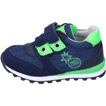 Sapatos Rapaz Sapatilhas Enrico Coveri BJ973 Azul