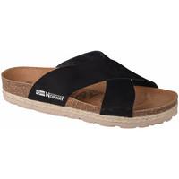 Sapatos Mulher Chinelos Geographical Norway Sandalias Bios Tiras Cruzadas Noir