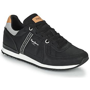 Sapatos Homem Sapatilhas Pepe jeans TINKER ROAD Preto
